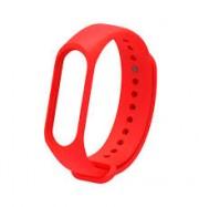 Ремешок для часов Xiaomi MI Band 4, Original Desing силиконовый, красный