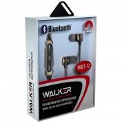 Наушники WALKER Bluetooth WBT-12, золотой