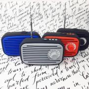 Аудио-колонка G-32, Радио-ретро ,красный