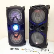 Блютуз-колонка BT-1776, FM, SD+Micro SD, USB, AUX, c микрофоном и пультом управления