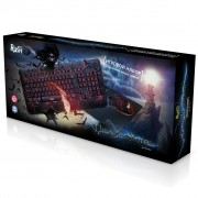 Набор игровой клавиатура+мышь+коврик Smartbuy Rush Thunderstorm черный (SBC-715714G-K)