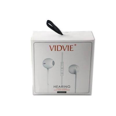Наушники Vidvie HS604 Hearing, вкладыши, белые