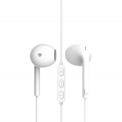 Наушники Vidvie HS635 с микрофоном, вкладыши, белые