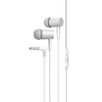 Наушники Vidvie HS632 с микрофоном, вакуумные, белые