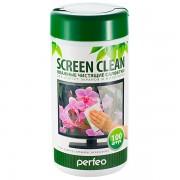 """VS чистящие салфетки """"Screen Clean"""", для LCD/TFT экранов и мониторов, в тубе, 100шт."""