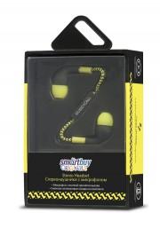 Внутриканальная гарнитура SmartBuy Z (SBH-730), черно-желтый