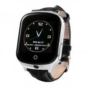Детские Часы Smart T100, черные ,GPS/Sim-карта/камера/громкий динамик