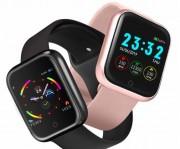 Детские Часы Smart i5, металл /пульсометр/шагомер, красный