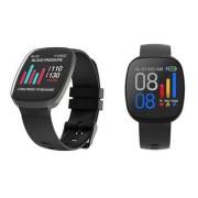 Детские Часы Smart SX10, металл /пульсометр/шагомер, черный