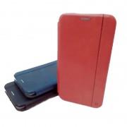 Чехол-книга для Apple iPhone 5, светло-коричневая, Nice Case, горизонтальная с магнитом