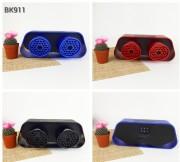 Аудио-колонка Porsches BK911, FM, MP3, USB, синяя
