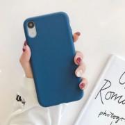 """Чехол-накладка для iPhone 7 Plus/8 Plus серия """"Оригинал"""",  синий"""