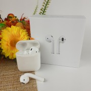 Гарнитура Bluetooth Apple AirPods2 MPXJ2CH/A bluetooth 1:1 EV1 Stop 3logo