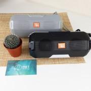 Блютуз-колонка Portable TG143 JB  Micro SD + USB + FM, серый