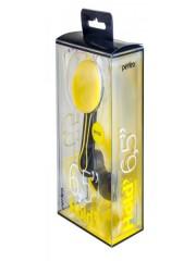 """Perfeo-532 Автодержатель для смартфона до 6,5""""/ на воздуховод/ магнитный/ поворотный/ черный+желтый"""