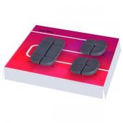 Perfeo Catch Фиксатор на 4 кабеля 2-8 мм/силикон/ черный (PF_A4441)