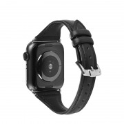 Ремешок для Apple Watch 38-40mm, New Luxury leather, черный
