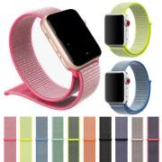 Ремешок для Apple Watch 42-44mm, нейлоновый, белый
