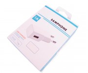 СЗУ Samphone 1A , 1USB с кабелем IPhone 4