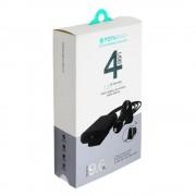 АЗУ USB 9.6 A  4 USB  TOTU DESING