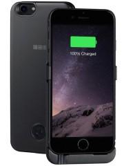 Внешний аккумулятор-чехол на iPhone 7, 3000mAh Li-Pol , BLACK, InterStep