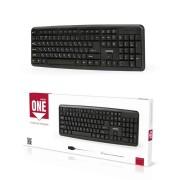 Клавиатура проводная Smartbuy ONE 112 USB (SBK-112U-K), черный