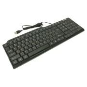 Клавиатура проводная мультимедийная Smartbuy ONE 234 USB (SBK-234-K), черный