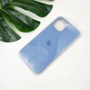 """Чехол-накладка для iPhone 11 Pro Max серия """"Оригинал"""" №24, лазурный"""