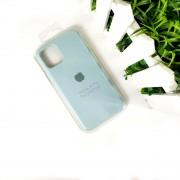"Чехол-накладка для iPhone 11 Pro Max серия ""Оригинал"" №17, бирюзовый"