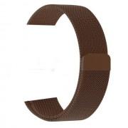 """Ремешок для Apple Watch 42-44mm, """"Миланская петля"""" металлический, коричневый"""