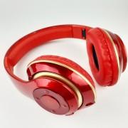 Наушники Bluetooth полноразмерные V30, красный