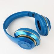 Наушники Bluetooth полноразмерные V30, голубой