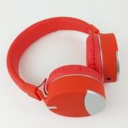 Наушники полноразмерные Elmcoei MF-990AP, красный с серебристыми вставками