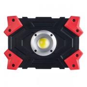 """Perfeo фонарь-прожектор """"Work Light"""", COB-5W, 470LM (PF_A4417), красный"""