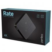 "Perfeo SMART TV BOX приставка ""RATE"", Amlogic S905W, 2G/16Gb, Bluetooth, Android 7.1 (PF_A4552)"