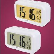 "Perfeo Часы-будильник ""Snuz"", (PF-S2166) время/температура/дата, белый"