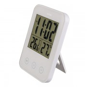 "Perfeo Часы-метеостанция ""Touch"", (PF-S681) время/температура/влажность, белый"