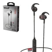 Perfeo наушники внутриканальные с микрофоном беспроводные WOOF магнитное крепление, MP3 плеер, черны