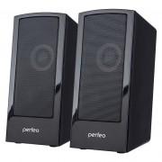 "Perfeo колонки ""CALIBR"", 2.0, мощность 2х3 Вт, USB, чёрный"