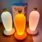 """Светодиодный светильник-ночник (LED) №8030, с аккумуляторм 1500mAh, 3.7V, 2W, """"Морковка"""", белый"""