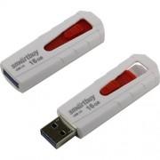 USB 16GB SmartBuy UFD 3.0 IRON White/Red (SB16GBIR-W3), бело-красный