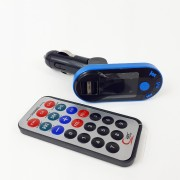 Автомобильный FM модулятор FM-I9 USB/microSD/AUX/дисплей/пульт + USB выход на зарядку