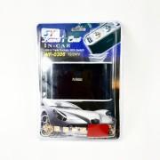 Разветвитель в прикуриватель WF-0306 со шнуром + переключатели, на 3 устройства + USB, 1000mAh