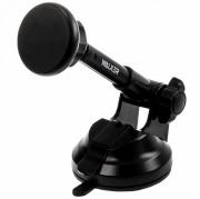 WALKER CX-015 PREMIUM Автодержатель для телефона, телескопический магнитный с присоской, черный