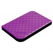 Verbatim 2.5 HDD 1 TB USB 3.0 Store'n'Go Purple New, фиолетовый