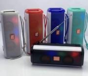Блютуз-колонка TG144 SD micro+USB+micro USB+AUX+FM+Bluetooth, зеленый