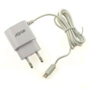 СЗУ Aspor A802 Micro USB, + 1 дополнительный USB порт, 1000mAh
