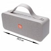 Блютуз-колонка TG521 SD micro+USB+micro USB+AUX+NFC+FM+Bluetooth, серый