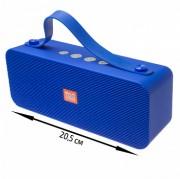 Блютуз-колонка TG521 SD micro+USB+micro USB+AUX+NFC+FM+Bluetooth, синий