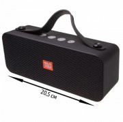Блютуз-колонка TG521 SD micro+USB+micro USB+AUX+NFC+FM+Bluetooth, черный